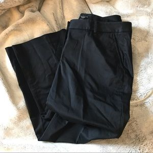 EUC Black dress petite slacks